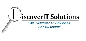 DiscoverIT logo with 2 lines